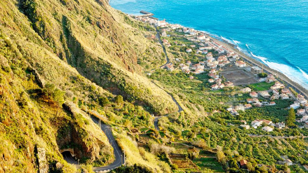 Küstenlandschaft auf Madeira