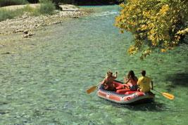 Fluss Acheron in Epirus